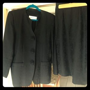 Vintage 1980's Albert Nipon Suit